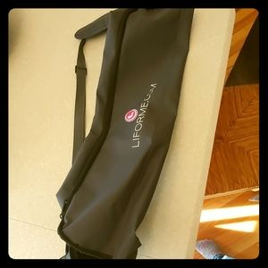 NWOT Liforme yoga mat holder bag